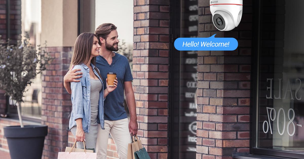 EZVIZ C4W Outdoor Smart Wi-Fi IP Camera | EZVIZ
