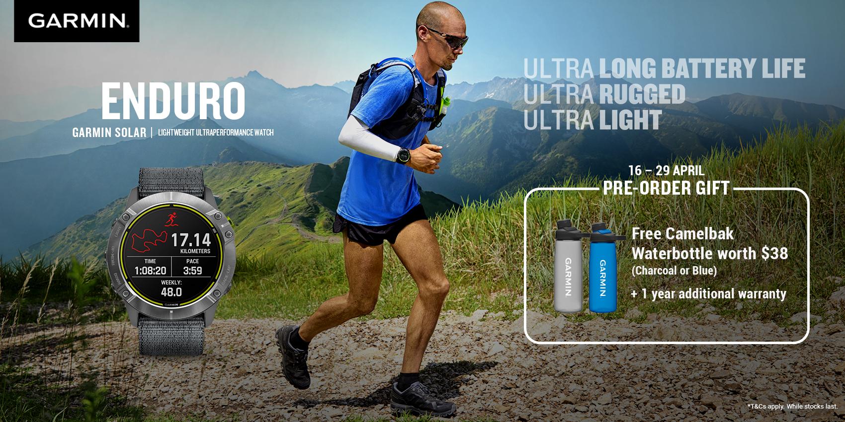 Garmin Enduro GPS Smartwatch Pre-Order